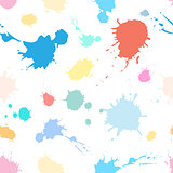 pattern of spray paints