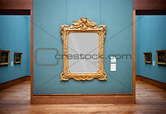 Frame at the Getty Center, Los Angeles, California, USA