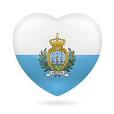 Heart icon of San Marino