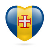Heart icon of Madeira