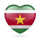 Heart icon of Suriname