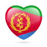 Heart icon of Eritrea