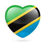 Heart icon of Tanzania