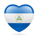 Heart icon of Nicaragua