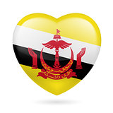 Heart icon of Brunei