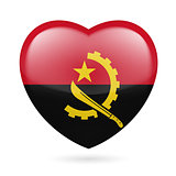 Heart icon of Angola