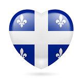 Heart icon of Quebec
