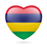 Heart icon of Mauritius