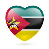 Heart icon of Mozambique
