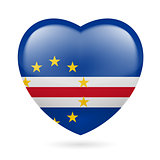Heart icon of Cape Verde