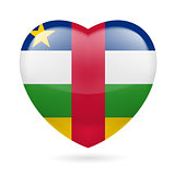 Heart icon of Central African Republic