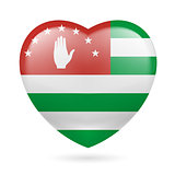 Heart icon of Abkhazia