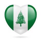 Heart icon of Norfolk Island