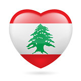 Heart icon of Lebanon