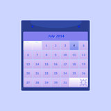 Design schedule monthly july 2014 calendar