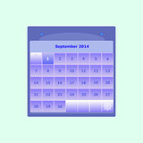 Design schedule monthly september 2014 calendar