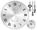 Wall clock face old fashion