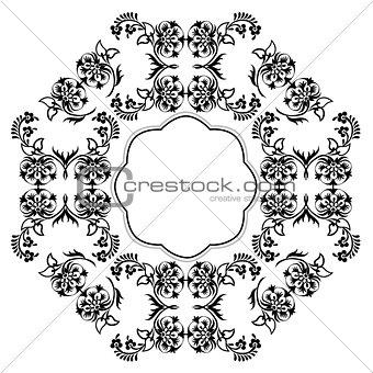 black oriental ottoman design eleven