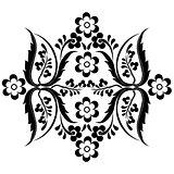 black oriental ottoman design fifteen