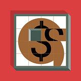 Dollar Sliding Puzzle