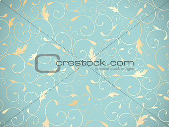 Abstract Floral Decorative Background