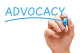 Advocacy Blue Marker