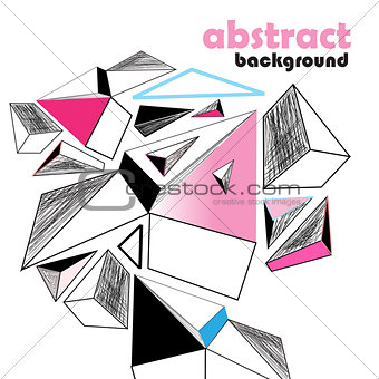 background graphics abstraction