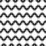 Design seamless monochrome horizontal zigzag pattern