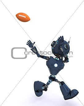 Android playing American Football