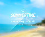 Summertime background