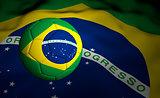 Soccer Ball Brazil 2014