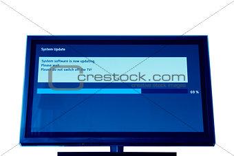 Modern television update process