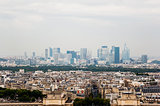 Paris skyline with La Defense in the