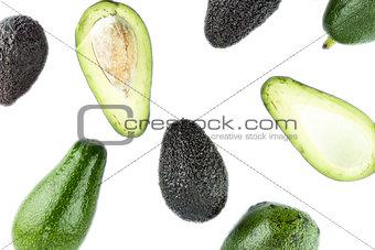 Black Ripe Avocados