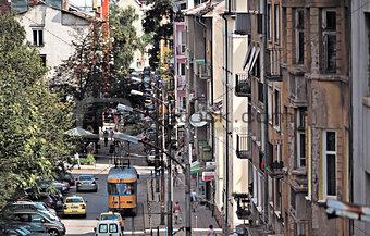 Sofia Bulgaria general street view
