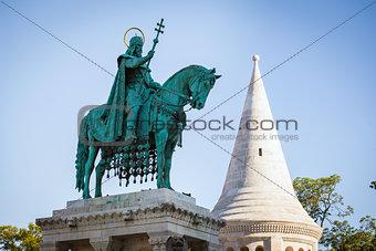 King Saint Stephen statue