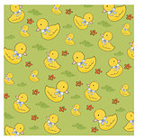 seamless background with  rubber duck