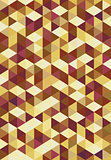 Geometric abstract pattern of triangles