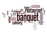 Banquet word cloud
