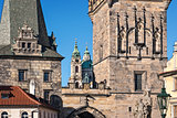 Old Town Prague, Tower at the Charles Bridge Czech Republic