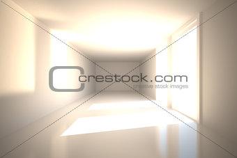 Bright hall
