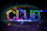 Digital club text