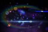 Digitally generated disco design