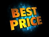 Best Price Concept on Digital Background.