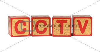CCTV - Colored Childrens Alphabet Blocks.