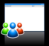 Web Internet Browser with User Grouo