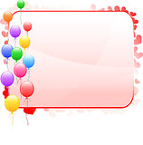 Balloon Frame Background