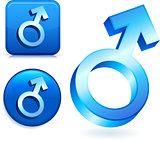 Male Gender Symbols