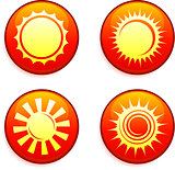 Sun Icons on Internet Buttons