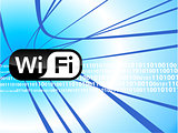 WiFi technology background
